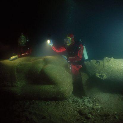 Hogyan fedezték fel Egyiptom elsüllyedt kincseit?