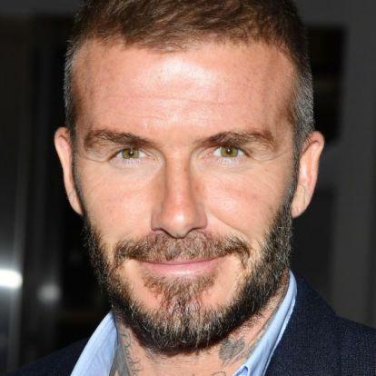 David Beckham gyerekkori fotót posztolt magáról