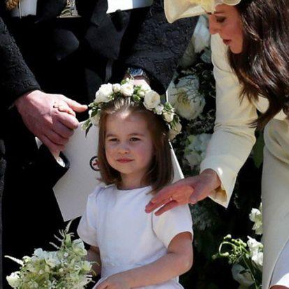 Komoly szerepet kap a királyi esküvőn György és Charlotte