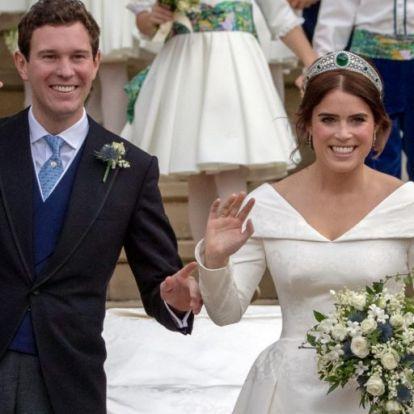 Megérkeztek a hivatalos fotók a royal esküvőről
