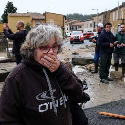 Hirtelen áradás ölt meg 13 embert Franciaországban, a helyzet tovább romolhat