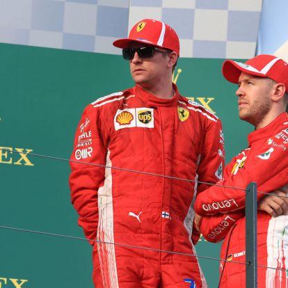 A Ferrari merőben sajátosan köszöntötte fel Räikkönent