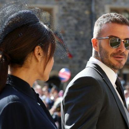 Baj lehet David Bechkam házasságával: furcsán nyilatkozott