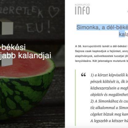 Tavaly még magas lóról osztotta Simonka az ügyeit firtató Hadházyt