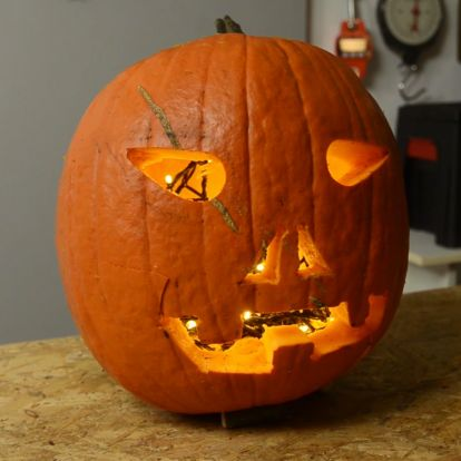 Halloween-i tökfaragás barkács módra!