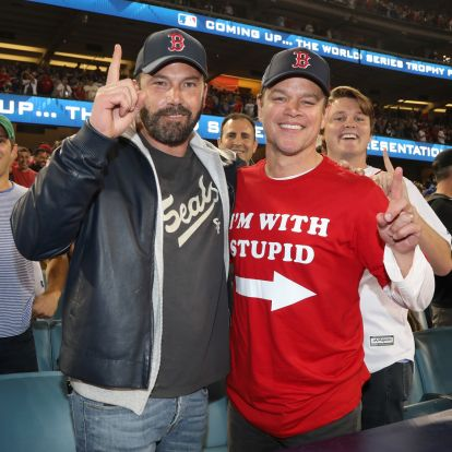 Matt Damon és Ben Affleck újra együtt a pályán