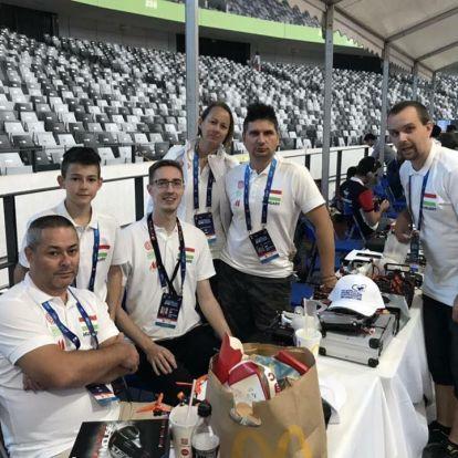 Magyarok a drón világbajnokságon