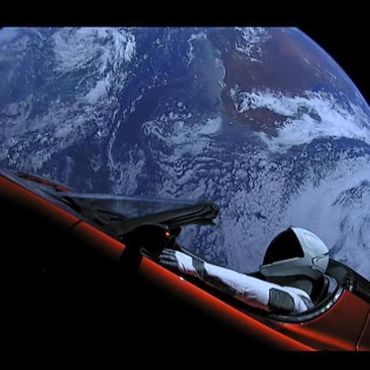 Már a Marson túl száguld Elon Musk sportkocsija - National Geographic