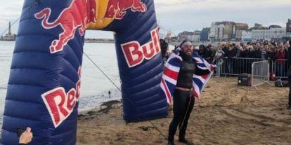 Edgley 155 nap alatt úszta körbe Nagy-Britanniát