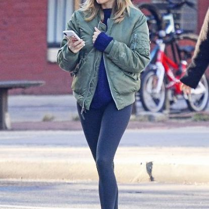 Kopizd le a stílusát: Sienna Miller átértelmezte a leggings fogalmát