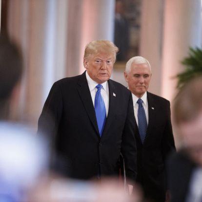 Erős döntetlen Trump javára