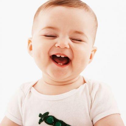 Ezért nevetnek olyan tündérien a csecsemők!