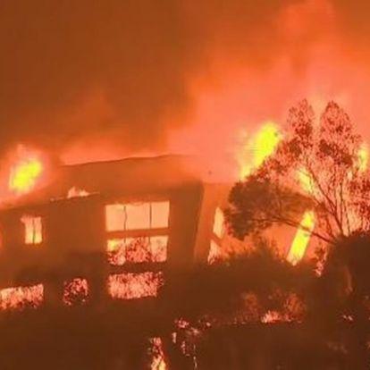 Miley Cyrus háza is leégett, több sztár otthona semmisült meg a kaliforniai tűzvészben