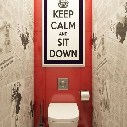 Nem mellékes - WC design