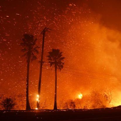 A sztárok otthonai is porig égtek a kaliforniai tűzben: fotókon a pusztítás