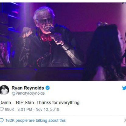 A szuperhősök is Stan Lee-t gyászolják