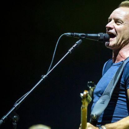 Ingyenes Sting koncert a Hősök terén