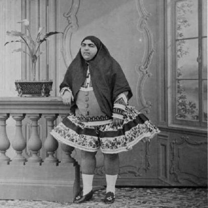Korabeli fotók a 19. századi Irán híres szépségének tartott hercegnőről