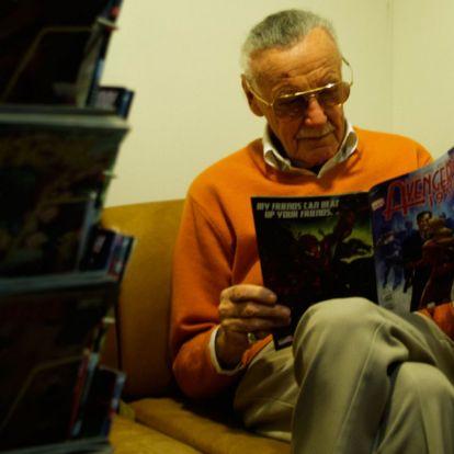 Kiderült, ki Stan Lee utolsó titkos kis kedvence