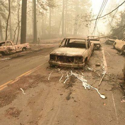 Felmérhetetlen a pusztítás Kaliforniában