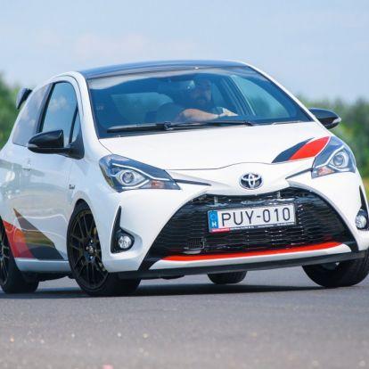 Jólnevelt rosszfiú – Toyota Yaris GRMN teszt