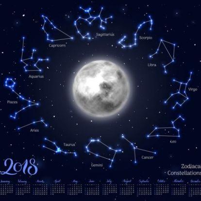 Heti holdhoroszkóp 2018. november 21-27.: Felborzolja a kedélyeket a pénteki telihold