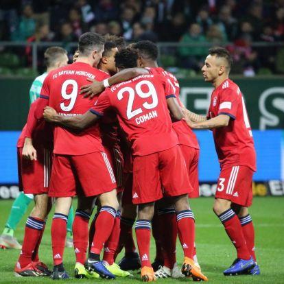 Bundesliga: idegenben nyert a Bayern és a Hertha is