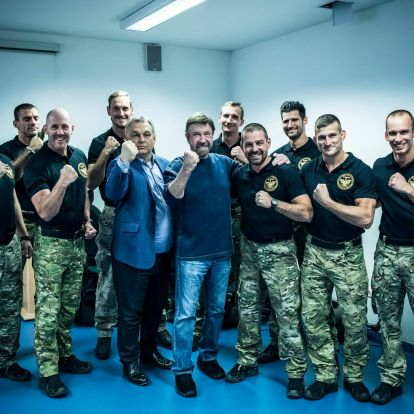 Chuck Norris and Prime Minister Orbán: 'Friends Forever'