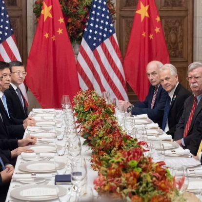 Tűzszünetet kötött az USA és Kína a világ legnagyobb kereskedelmi konfliktusában