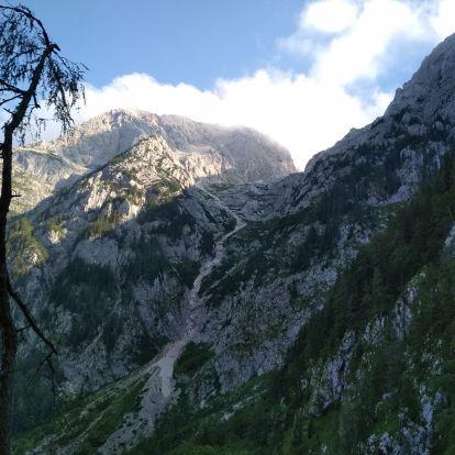 Grintovec, a Kamniki-Alpok legmagasabb csúcsa