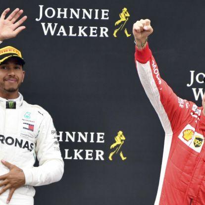 Wéber Gábor: nagy fordulópontok voltak a Hamilton–Vettel-csatában