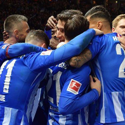 Videó: így verte meg a Hertha a Frankfurtot!