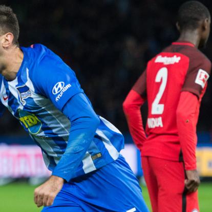 Dárdai Pál csapata ismét nyert, a Hertha megállította a Frankfurtot!