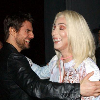 Tom Cruise retteg: leleplezésre készült egykori barátnője, Cher