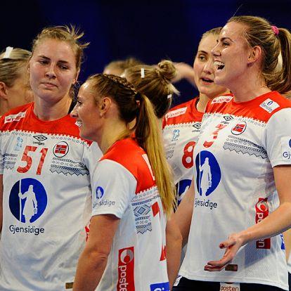 A norvégok a hollandokat is 13 góllal győzték le a kézi Eb-n, csoda kell a mieinknek az elődöntőhöz!