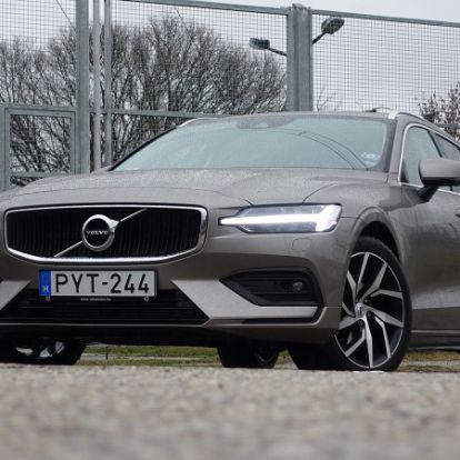 Könnyű rákívánni, nehéz elengedni – Volvo V60 D4 (2018) teszt