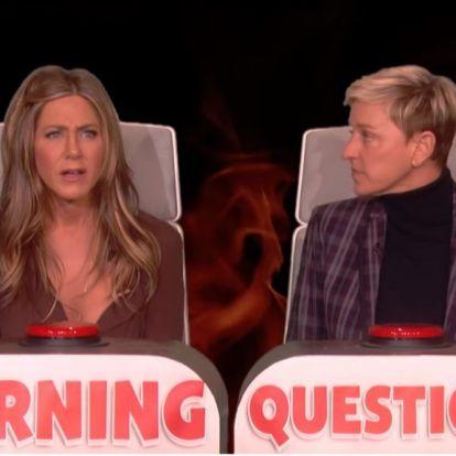 Jennifer Aniston meztelenül szokott tévézni