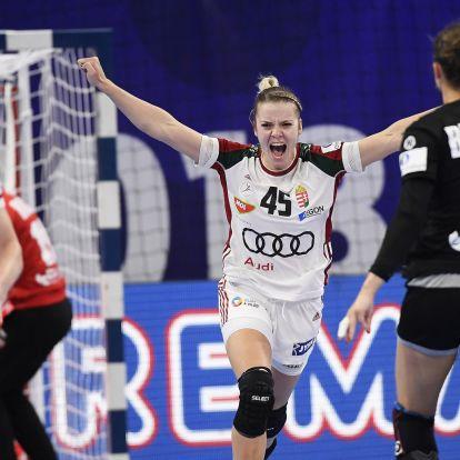 Háfra Noémi lőtte a női kézi Eb középdöntőjének legszebb gólját