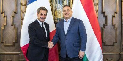 Orbán Viktor Nicolas Sarkozy volt francia elnökkel tárgyalt