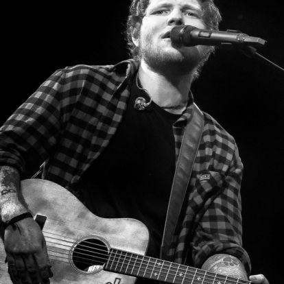 Ed Sheeran idén a legjobb barátnőjét is túlszárnyalta