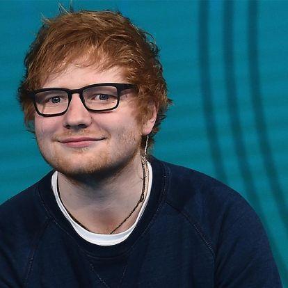 Brutálnagyot kaszált Ed Sheeran