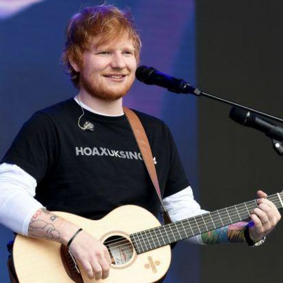 Ed Sheeran annyi pénzt keresett, hogy minden rekordot megdöntött