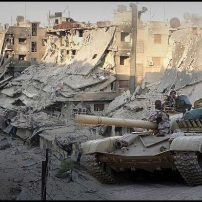 A szíriai helyzet veszélye az amerikai csapatkivonás után