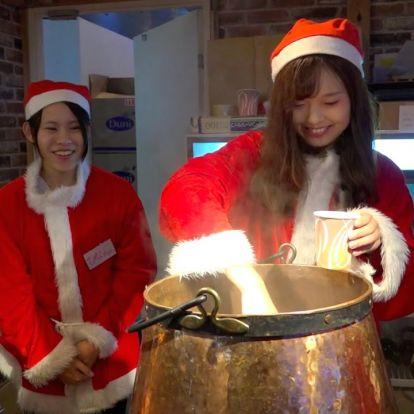 Street Food: karácsonyi vásár Japánban