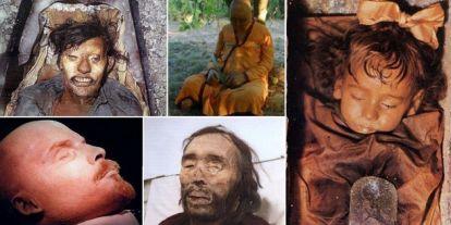 18 kiváló állapotban megmaradt, hátborzongató holttest a történelemből