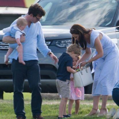 György herceg kipakolt! Kiderült, miket cipel magával designertáskájában Katalin hercegné - FOTÓK