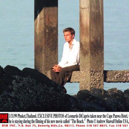 DiCaprio csaja ott szelfizgetett, ahol Leo egyik filmjét forgatták