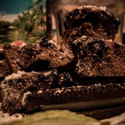 Csokis-oreós bögrés süti