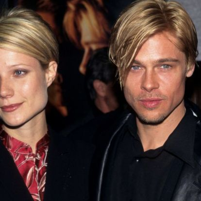 Gwyneth Paltrow egy Brad Pitt-mémmel humorizált
