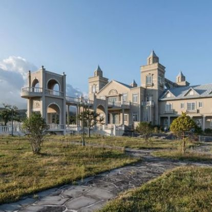 Elhagyott koreai kastély